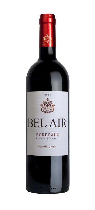 packshot Bel Air l Bordeaux Red