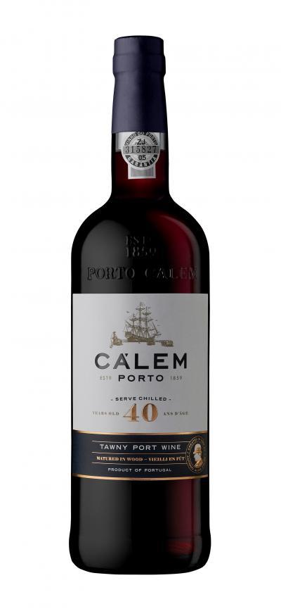 packshot Calem Porto 40 Years Old