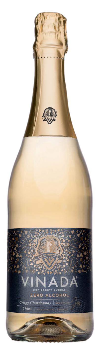 packshot VINADA Crispy Chardonnay   0,0%, Vegan