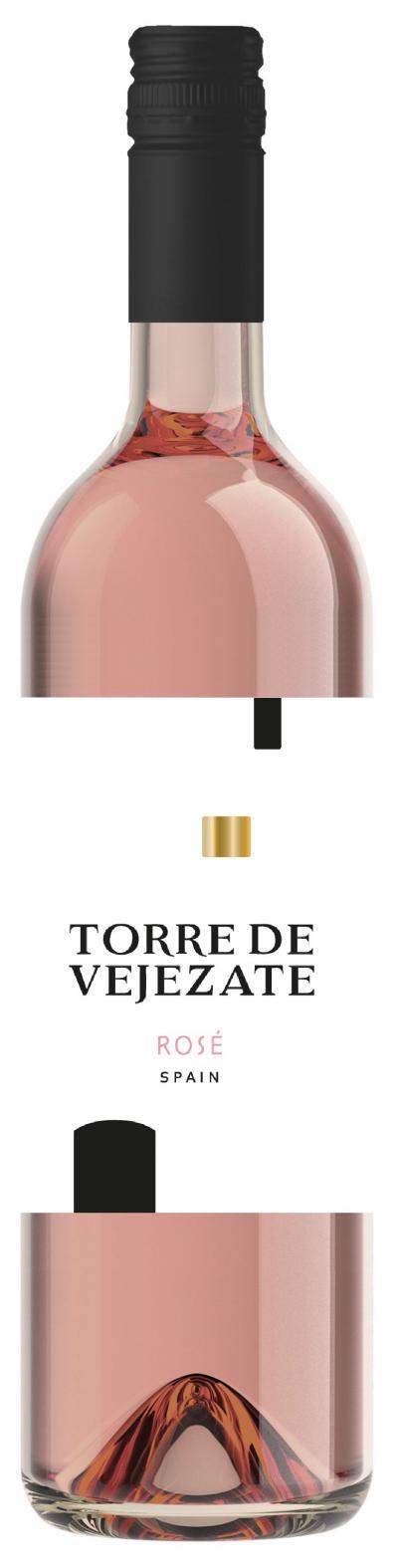 packshot Torre de Vejezate Rosé
