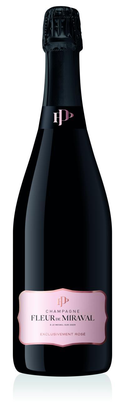 packshot FLEUR DE MIRAVAL Rosé Champagne
