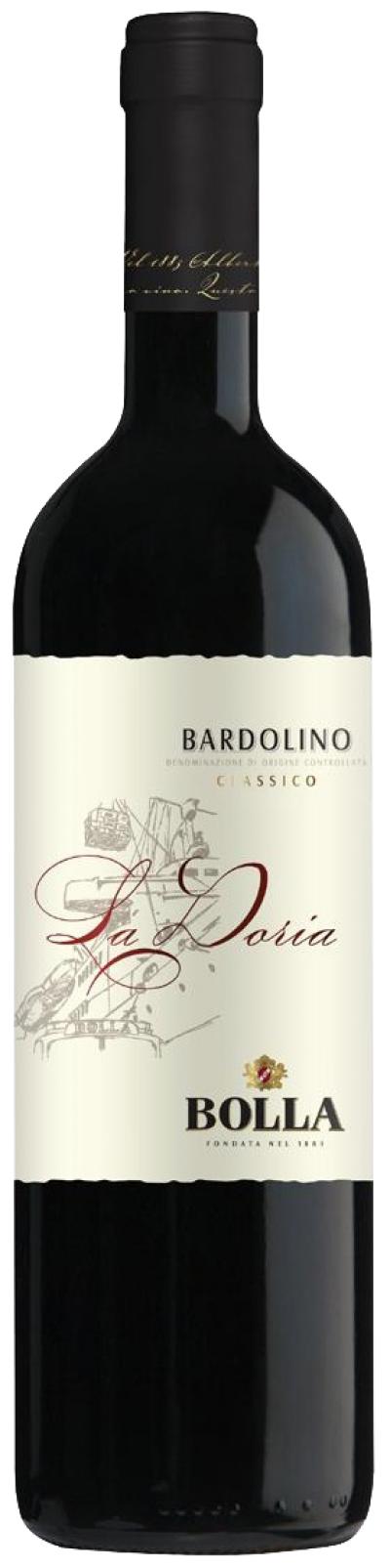 packshot Bolla Bardolino Classico DOC