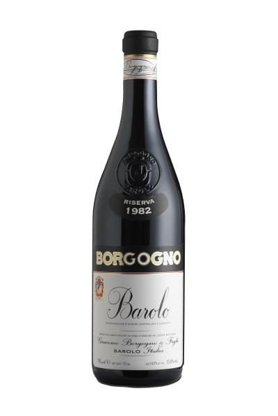 packshot Borgogno Barolo DOCG Riserva 1982