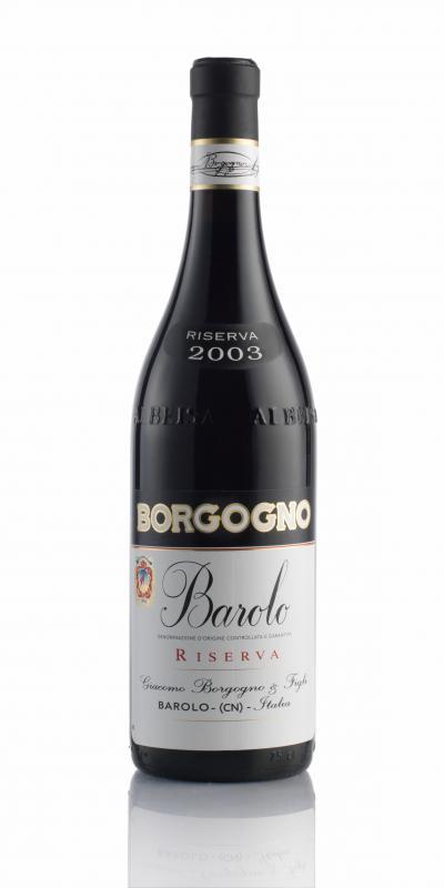 packshot Borgogno Barolo DOCG Riserva 2003