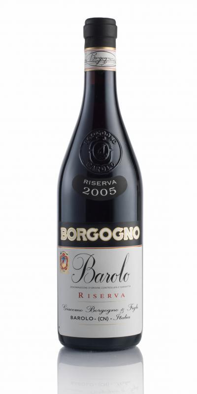 packshot Borgogno Barolo DOCG Riserva 2005