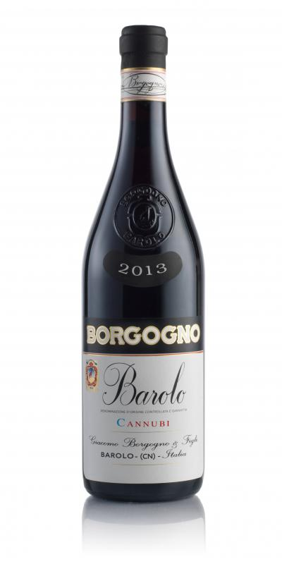 packshot Borgogno Barolo DOCG Cannubi