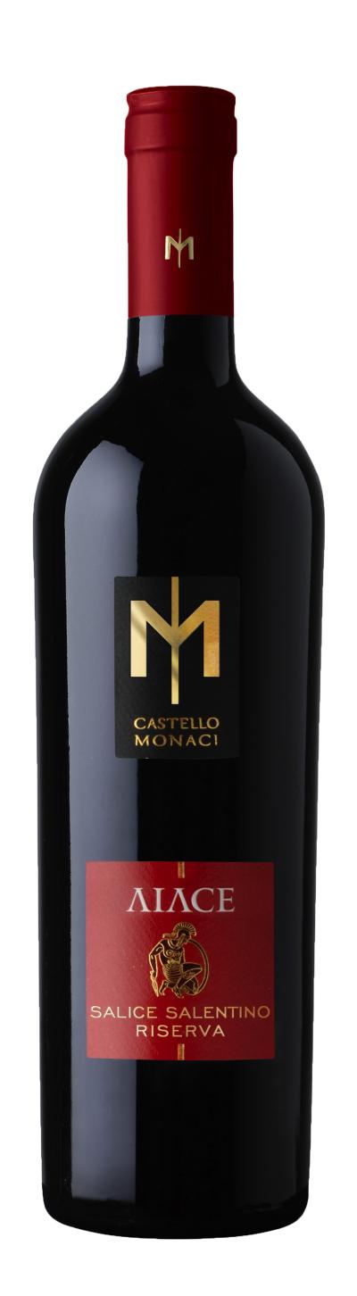 packshot Castello Monaci Aiace Salice Salentino Riserva DOC